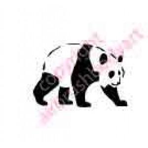 0254 panda reusable stencil